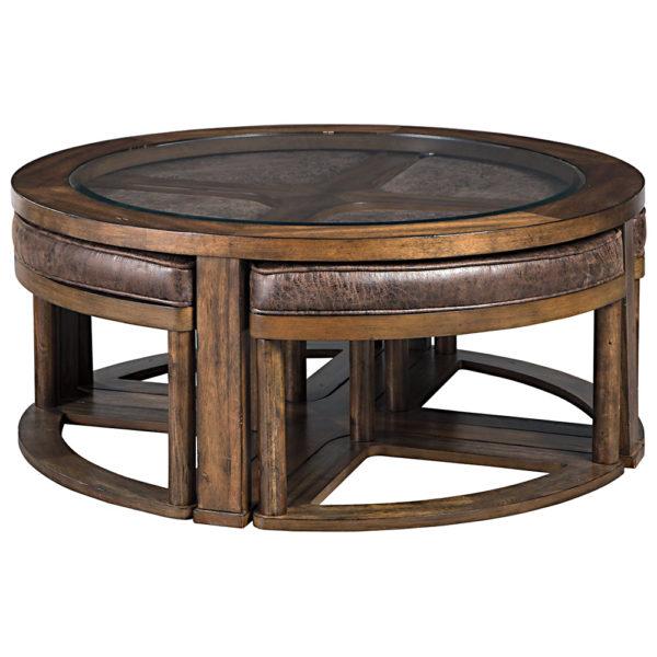 Набір Hannery (стіл журнальний і 4 стільці)